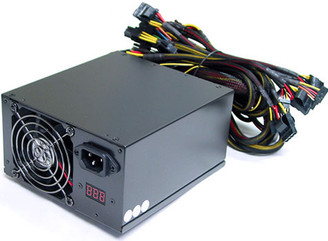 Works W620BF SLI/Crossfire/Dual Xeon 600W w/ Wattage Display