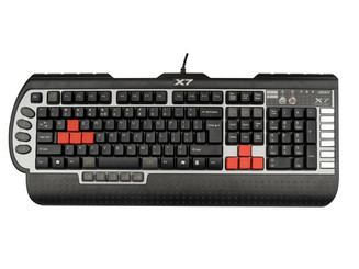 A4tech A4-X7-G800V 3xFast Gaming Keyboard, USB