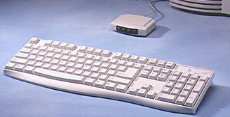 ACK-240 Full Size Wireless Infared Keyboard (Beige)