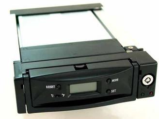 ATN-999-BK (Black) LCD Display IDE ATA133 Aluminum Mobile Rack