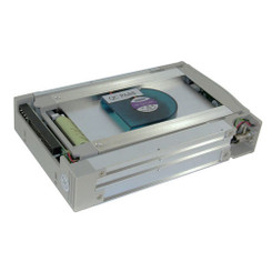 ATN-999-W (White) LCD Display IDE ATA133 Aluminum Mobile Rack
