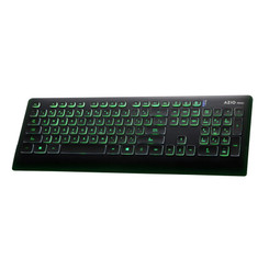 Azio KB507 Prism 7 Color Backlight  USB Keyboard