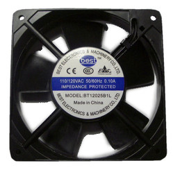 Best Electronics BT12025B1L AC115V Dual Ball Bearing 120X25MM AC Fan