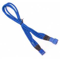 BitFenix BFA-MSC-4F30BB-RP (Blue) Alchemy Multisleeved 30cm 4Pin PWM Fan Cable Extension Cable
