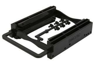 BYTECC Bracket-252K Dual 2.5In HDD/SSD Screwless Bracket For 3.5in Bay