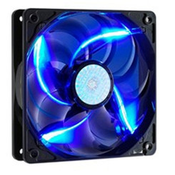 CoolerMaster R4-L2R-20AC-GP 120mm Sickle Flow Long Life Blue LED Fan