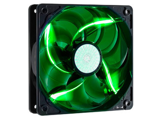 CoolerMaster R4-L2R-20AG-R2 120mm Sickle Flow Long Life Green LED Fan