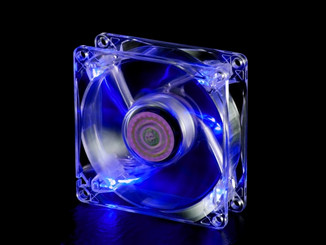 CoolerMaster R4-BC8R-18FB-R1 (Blue LED) 80mm Fan, 3Pin