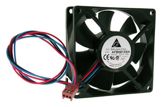 Delta AFB0812SH-F00 12V DC 80x25.4mm Fan, 3Pin, RPM Sensor
