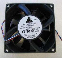 Delta AFC0912DE-PWM 92x38mm Extreme Hi Fan, 4Pin PWM