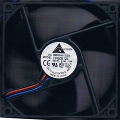 Delta EFB0912L-F00 92x92x25mm Triple Blade Ball Bearing Fan