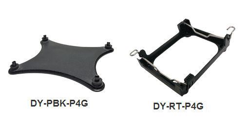 Thin Dynatron DY-PBK-P5G Intel Socket Backplate