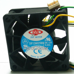 Dynatron DF126025BM-PWMG 60x60x25mm 7000RPM PWM Fan