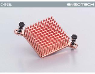 8 Pieces BMR-C1L Enzotech BCC9 Low Profile Copper BGA Heatsinks