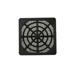 EverCool FGP-60 60mm Plastic Fan Filter, Black