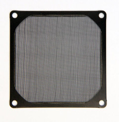 EverCool FGF-120/M/BK 120mm Aluminum Mesh Fan Filter