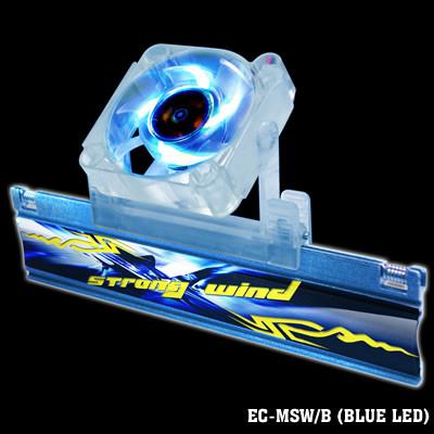 Blue EverCool EC-MSW//B Strong Wind Memory Cooler