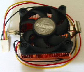 EverCool NCUI-510EA Low Profile Coppermine Socket370/SocketA CPU Cooler