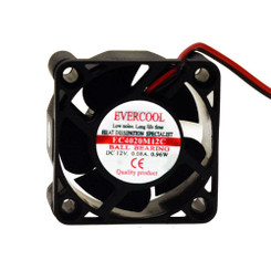 Evercool EC4020M12C  40x40x20mm Ball Bearing Fan 2wire