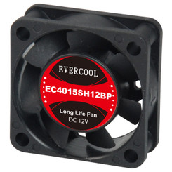EverCool EC4015SH12BP 40x15mm PWM Fan, 4Pin PWM