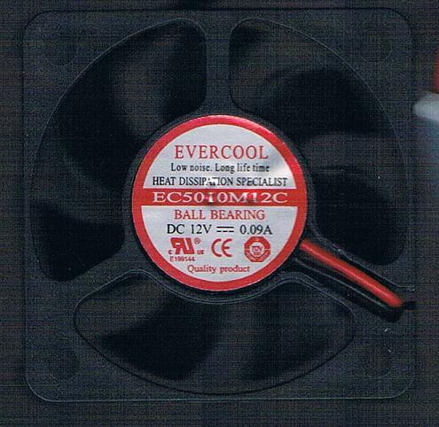 EVERCOOL 50 x 50 X 10 MM 5V FAN EC5010M05CA