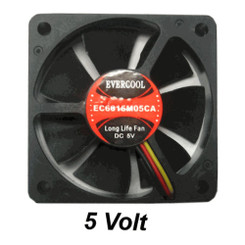 EverCool EC6015M05CA 60x15mm 5V Fan , 3Pin