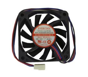 Evercool  EC6010HH12CA 60 x 60 x 10mm High Speed Fan, 3pin