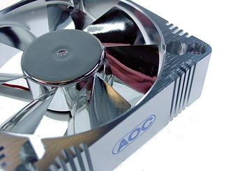 EverCool EC-AL8025M12CA 80x25mm Aluminum Fan, 3pin