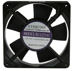 Evercool EC1225A1HBT 120x120x25mm 110V AC Terminal Fan