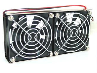 EverCool SBF-8B System Bracket Fan w/ Dual 80mm Fan
