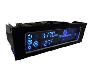 Gelid FC-LC-01 SpeedTouch 6 5.25inch Bay 6Channel Touch Screen Fan Controller