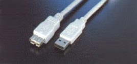 USB EXTENSION CABLE 6FT (A TO A,M / F )