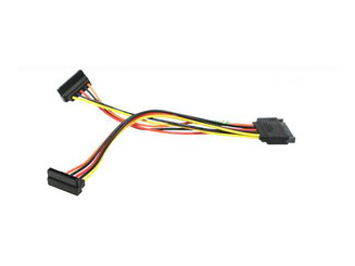 CB-YSATA2 6inch SATA 15Pin 90 Degree Power Y Split Cable