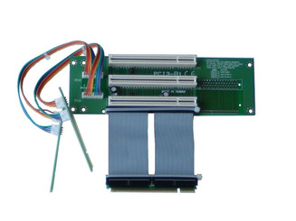 RC2011 2U 3-slots PCI-32bit/5V/33MHz riser card w/ 2.5cm ribbon cable