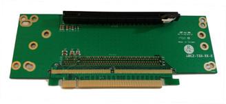 RC2-PEX16AV3 2U 1-Slot PCIe x16 Riser Card