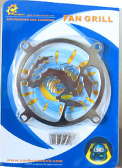 80mm Stainless Steel Scorpion Fan Grill
