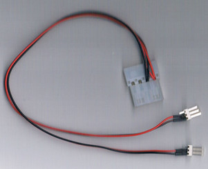 FC433 4Pin Molex (F) to 2 x 3Pin (M) Adapter Cable