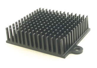 HS-08 45mm x 41mm x 12mm Aluminum Heatsink w/ Two mounting holes