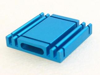 HS-04 27mm x 27mm x 5mm Aluminum Heatsink w/ Adheisve Tape