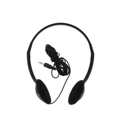 NOTE-302 Multimedia Stereo Headphone (Black)