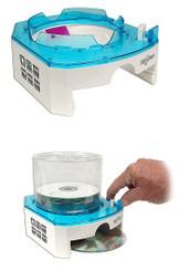 EZ Disc CD/DVD Dispenser, Blue