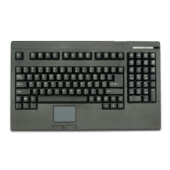ACK-730 PS/2 Touch Pad Rackmount/POS Keyboard