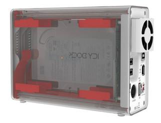 ICY DOCK MB662USEB-2S-1 1394b/eSATA/USB2.0 Dual Bay RAID Enclosure