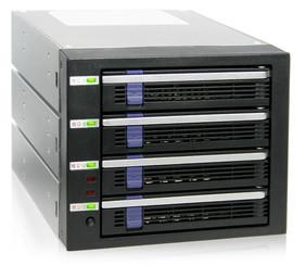 ICY DOCK MB454SPF-B Hot-swap 3.5in SATA3 HDD Raid Backplane