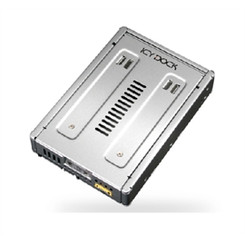 ICY DOCK MB982SP-1S Full Metal 2.5in to 3.5in SAS & SATA HDD & SSD Converter