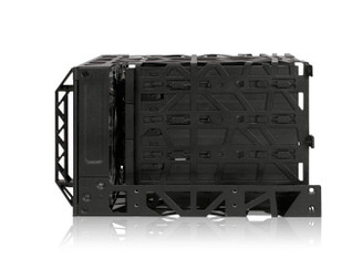 Icy Dock Black Vortex MB074SP-B 3.5inch SAS/SATA 4 in 3 Module Cooler Cage