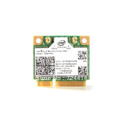 Intel 7260.HMWG.R WiFi Wireless-AC 7260 M2 H/T Dual Band 2x2 AC+ Bluetooth
