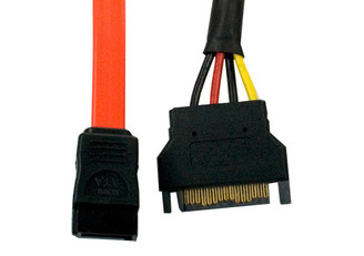 Kingwin SAC-07 SATA Data & Power Combo Cable