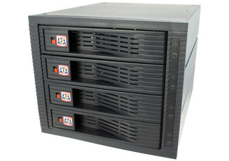 Kingwin KF-4001-BK 3.5inch 4Bay RAID Hot Swap Rack