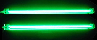 Logisys Dual Cold Cathode Fluorescent Lamp (Green)